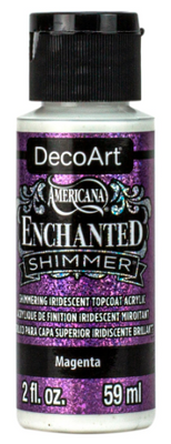 Magenta Enchanted Shimmer Acrylic Paint by DecoArt