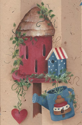 Butterfly Birdhouse E-Pattern By Sandra Malone