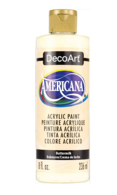 Buttermilk Acrylic Paint 8 oz