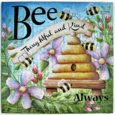 Bee Thoughtful E-Pattern by Chris Haughey