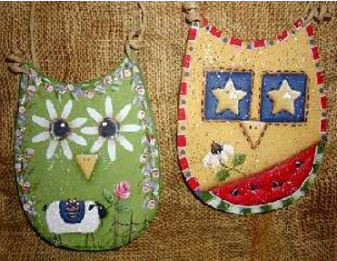 Spring and Summer Owls E-Pattern by Betty Bowers