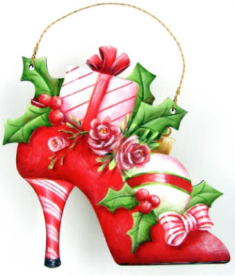 Holiday Heels Ornament E-Pattern by Chris Haughey