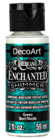 Green Enchanted Shimmer Acrylic Paint by DecoArt
