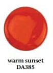 Warm Sunset Americana Acrylic Paint by DecoArt