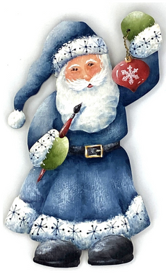 Santa with Ornament