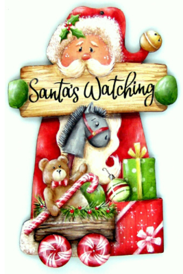 Santa's Watching Ornament Kit