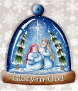 Glory to God Ornament E-Pattern