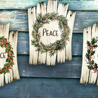 Rustic Sign Ornament 361-L688 Sold Separately