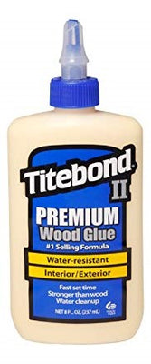Titebond II Premium Wood Glue-8 oz.
