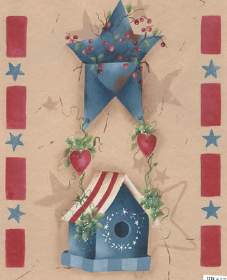 Stars and Stripes E-Pattern By Sandra Malone