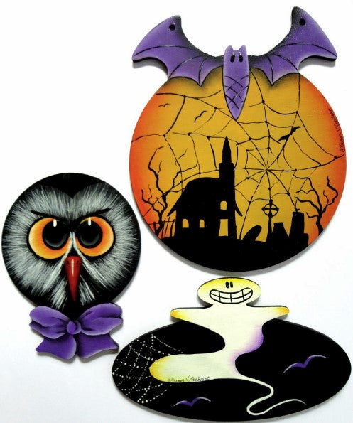 SPOOKY ORNAMENTS E-Pattern