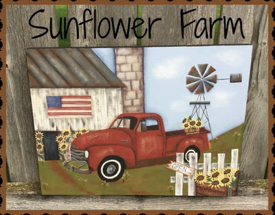 Sunflower Farm E-Pattern by Vicki Saum