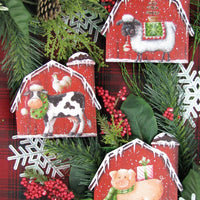 Barn Ornament 31-L678 Sold Separately