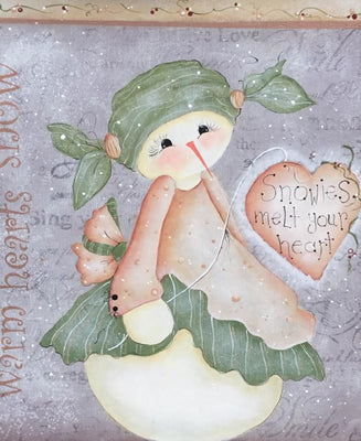 Snowies Melt Your Heart By Deb Mishima E-Pattern