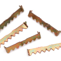 Large Sawtooth Hangers Set of 5