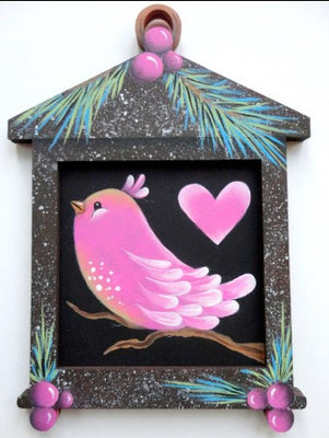 Sweet Birds Ornament Pair E-Pattern