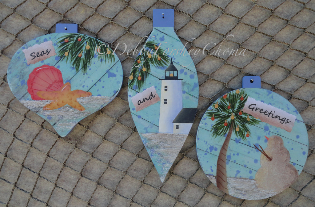 Seas and Greetings E-Pattern