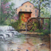 Spring at Falls Mill E-Pattern By Annette Dozier