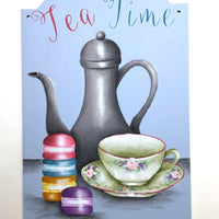 Tea Time by Lonna Lamb E-Pattern