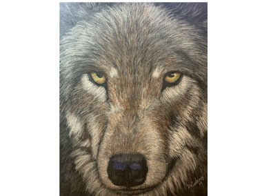 Timber Wolf E-Pattern By Debbie Cushing