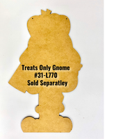 Treats Only Halloween Gnome Pattern By Jeannetta Cimo
