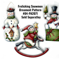 Box Top Snowman Ornament