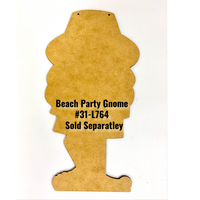 Beach Party Gnome Pattern By Jeannetta Cimo