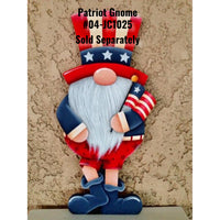 Patriot Gnome Plaque