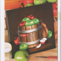 Apple Bucket E-Pattern By Linda Hollander