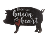 Don't Go Bacon My Heart Stencil