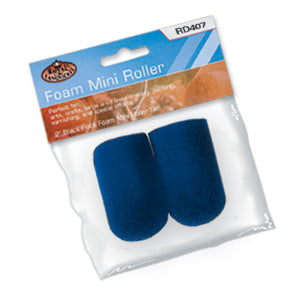 "2"" Foam Mini Roller Set Blue"
