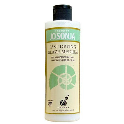 Jo Sonja Fast Drying Glaze Medium - 8oz Bottle