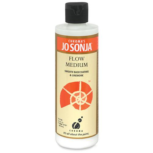 Jo Sonja Flow Medium- 8oz Bottle