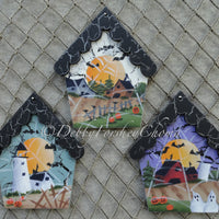 Haunted Houses E-Pattern