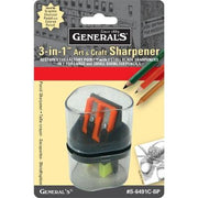 General's 3 in 1 Art and Craft Sharpener