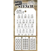 Tim Holtz Mini Stencil Set 32