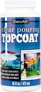 Decoart 16 oz Pouring Topcoat