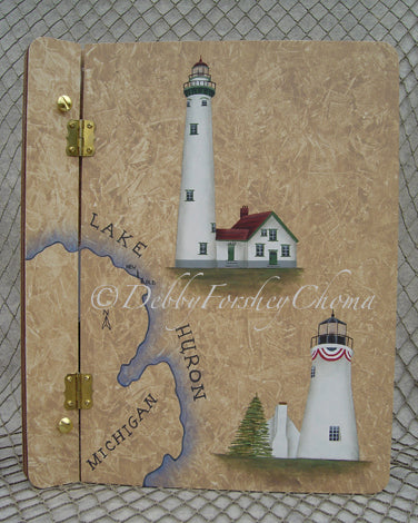 Presque Isle Lighthouses E-Pattern
