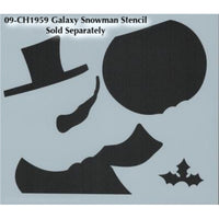 Galaxy Snowman Pattern by Chris Haughey