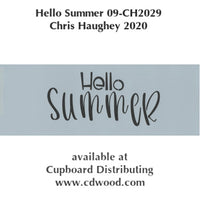 Hello Summer E-Pattern by Chris Haughey