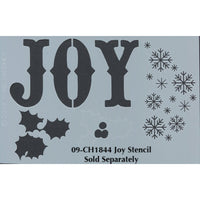 Joy Plaque Pattern by Chris Haughey