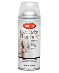 Low Odor Clear Finish by Krylon