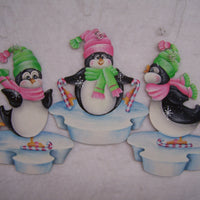 Peppermint Penguins E-Pattern By Linda Hollander