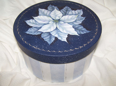 Poinsettia Box E-Pattern By Linda Hollander
