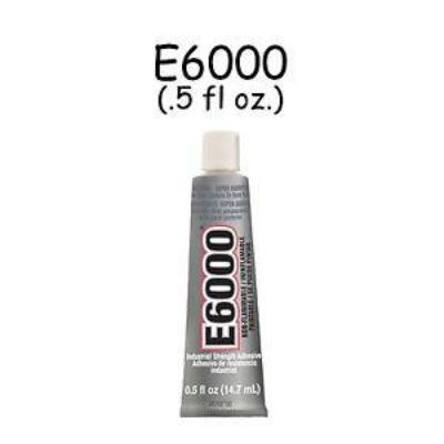 E-6000 Multi-Purpose Adhesive .5 oz