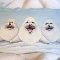 Trio of Silly Seals E-Pattern By Linda Hollander