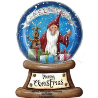 "6"" Snowglobe Ornament"