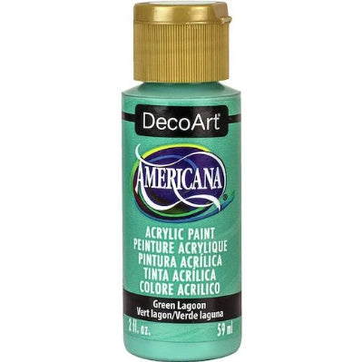 Green Lagoon Americana Acrylic Paint by DecoArt