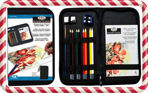 13-piece Watercolor Pencil Set