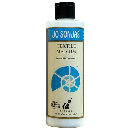 Jo Sonja Textile Medium- 8oz Bottle